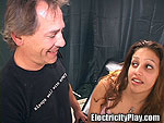 Mya Gets Shocked First Time Being Tied Up!